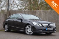 USED 2013 13 MERCEDES-BENZ E CLASS 2.1 E220 CDI BLUEEFFICIENCY SPORT 2d 170 BHP