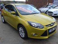 2011 FORD FOCUS 1.6 TITANIUM 5d 124 BHP £5975.00