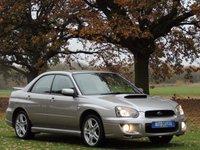 2005 SUBARU IMPREZA 2.0 WRX TURBO 4d 224 BHP £6200.00