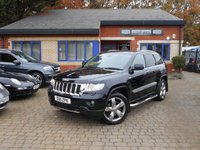USED 2011 11 JEEP GRAND CHEROKEE 3.0 V6 CRD OVERLAND 5d AUTO 237 BHP