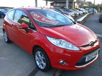 2012 FORD FIESTA 1.2 ZETEC 3d 81 BHP £SOLD