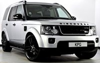 USED 2015 15 LAND ROVER DISCOVERY 4 3.0 SD V6 HSE Luxury (s/s) 5dr Auto Rear DVD's, Black Pack, Camera