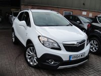 USED 2014 64 VAUXHALL MOKKA 1.6 SE S/S 5d 113 BHP ANY PART EXCHANGE WELCOME, COUNTRY WIDE DELIVERY ARRANGED, HUGE SPEC