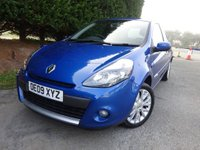 USED 2009 09 RENAULT CLIO 1.1 DYNAMIQUE 16V 3d 74 BHP