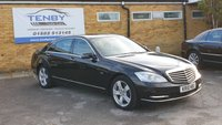 2010 MERCEDES-BENZ S CLASS 3.0 S350 CDI BLUEEFFICIENCY L 4d AUTO 235 BHP £10984.00