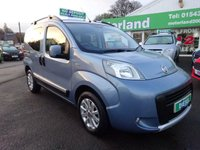 USED 2012 62 FIAT QUBO 1.2 MULTIJET TREKKING 5d 95 BHP £0 DEPOSIT FINANCE DEAL AVAILABLE...1 PRIVATE OWNER FROM NEW....CALL TODAY ON 01543 877320