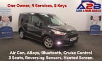 2015 FORD TRANSIT CONNECT 1.6 200 LIMITED 115 BHP with Air Con, Bluetooth, Alloys, 3 Seats, Front Fogs, F.S.H, One Owner, 2 Keys £9980.00
