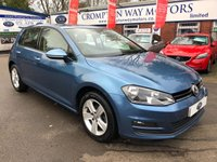 USED 2014 64 VOLKSWAGEN GOLF 1.6 MATCH TDI BLUEMOTION TECHNOLOGY 5d 103 BHP 0% FINANCE AVAILABLE ON THIS CAR PLEASE CALL 01204 317705.