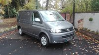 USED 2014 64 VOLKSWAGEN TRANSPORTER 2.0 T30/102 TDI HIGHLINE SWB Air Conditioning, One Owner, Short Wheel Base