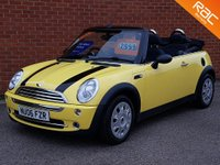 2006 MINI CONVERTIBLE 1.6 ONE 2d