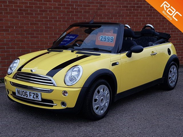 2006 06 MINI CONVERTIBLE 1.6 ONE 2d