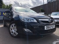 USED 2012 12 VAUXHALL ASTRA 1.6 i VVT 16v Exclusiv 5dr 1 YEAR WARRANTY FREE WITH CAR