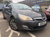 USED 2011 61 VAUXHALL ASTRA 1.6 i VVT 16v Excite 5dr ONE PREVIOUS OWNER
