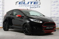 USED 2016 66 FORD FIESTA 1.0 ZETEC S BLACK EDITION 3d 139 BHP PRIVACY GLASS / NAV /FSH