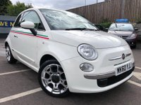 USED 2010 60 FIAT 500 1.2 Lounge (s/s) 3dr LOW MILEAGE & LOW ROAD TAX