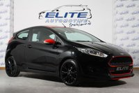 USED 2016 16 FORD FIESTA 1.0 ZETEC S BLACK EDITION 3d 139 BHP FULL FORD HISTORY/ PARK ASSIST / RAIN AND LIGHT PACK / ++