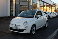 2014 FIAT 500 1.2 Lounge (s/s) 3dr £5985.00