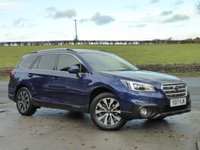 USED 2017 17 SUBARU OUTBACK 2.5 I SE PREMIUM 5d AUTO 175 BHP ONE OWNER, LOW MILEAGE, TOP SPEC, FULL SERVICE HISTORY