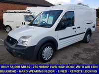 2012 FORD TRANSIT CONNECT T230 LWB WITH AIR CON & ELECTRIC WINDOWS £4995.00