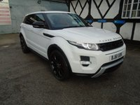 USED 2011 61 LAND ROVER RANGE ROVER EVOQUE 2.2 SD4 DYNAMIC LUX 5d AUTO 190 BHP
