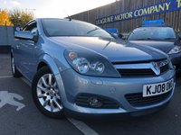 USED 2008 08 VAUXHALL ASTRA 1.6 i Sport Twin Top 2dr HARD TOP CONVERTIBLE