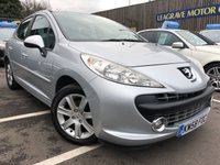 USED 2008 58 PEUGEOT 207 1.6 VTi Sport 5dr SPORTY SMALL CAR