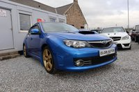 USED 2008 58 SUBARU IMPREZA WRX STI Type UK 2.5 5dr Very Rare Car Finished in The Best Colour MR Blue Mica Paint Extensive Full Service History with Lots of Receipts & Paperwork