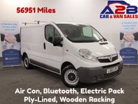 USED 2013 63 VAUXHALL VIVARO 2.0 2700 CDTI  Low Mileage, 56951 Miles, Air Con, Bluetooth, Full Electric Pack. **Drive Away Today** Over The Phone Low Rate Finance Available, Just Call us on 01709 866668**
