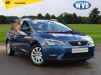 USED 2014 64 SEAT LEON 1.6 TDI SE TECHNOLOGY 5d 105 BHP Another superb value estate car. This one is a Seat Leon 1.6tdi SE Technology 5dr ESTATE in blue metallic with just 41000 miles, complete with service history, an independent AA inspection and 2 keys.