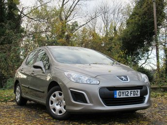 2012 PEUGEOT 308 1.6 ACCESS 5d AUTO £4431.00