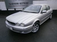 USED 2002 02 JAGUAR X-TYPE 2.0 V6 4dr AUTO