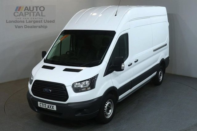 2017 17 FORD TRANSIT 2.0 350 L3 H3 129 BHP LWB H/ROOF AIR CON EURO 6 RWD VAN AIR CONDITIONING EURO 6 ENGINE
