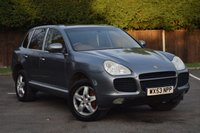 USED 2003 53 PORSCHE CAYENNE 4.5 TURBO 5d AUTO 450 BHP HUGE SPEC 1 OWNER HPI CLEAR