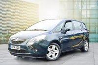2014 VAUXHALL ZAFIRA TOURER 2.0 EXCLUSIV CDTI 5d 128 BHP £7495.00