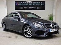 2014 MERCEDES-BENZ E CLASS 2.1 E220 BLUETEC AMG LINE 2d AUTO 174 BHP £12680.00