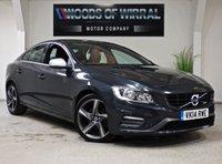 2014 VOLVO S60 2.0 D3 R-DESIGN 4d 134 BHP £11480.00