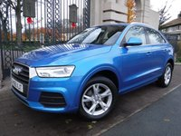 USED 2015 65 AUDI Q3 2.0 TDI QUATTRO SE 5d AUTO 148 BHP FINANCE ARRANGED***PART EXCHANGE WELCOME***1 OWNER***AUDI SERVICE HISTORY***SAT NAV***REVERSING CAM***DAB***BLUETOOTH