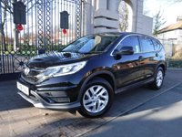 USED 2016 16 HONDA CR-V 2.0 I-VTEC S NAVI 5d 153 BHP FINANCE ARRANGED***PART EXCHANGE WELCOME***1 OWNER***FULL HONDA SH***SAT NAV***REVERSING CAMERA***BLUETOOTH PHONE AND AUDIO CONNECTION