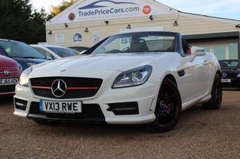 2013 MERCEDES-BENZ SLK 2.1 SLK250 CDI BLUEEFFICIENCY AMG SPORT 2d 204 BHP £13950.00
