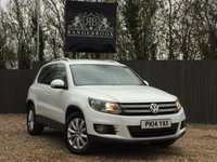 USED 2014 14 VOLKSWAGEN TIGUAN 2.0 MATCH TDI BLUEMOTION TECHNOLOGY 5dr 1 Year Parts & Labour Warranty