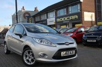 2012 FORD FIESTA 1.2 ZETEC 3d 81 BHP £5495.00