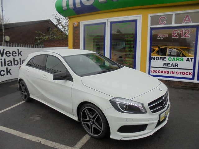 USED 2013 13 MERCEDES-BENZ A CLASS 1.5 A180 CDI BLUEEFFICIENCY AMG SPORT 5d 109 BHP ** AMG SPORT ** JUST ARRIVED **