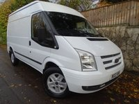 2012 FORD TRANSIT 2.2 350 LIMITED 1d 155 BHP RWD MWB MED ROOF £10995.00