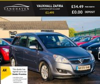 USED 2009 59 VAUXHALL ZAFIRA 1.9 ACTIVE PLUS CDTI 5d 118 BHP GREAT FAMILY 7 SEATER