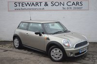 USED 2009 59 MINI HATCH ONE 1.4 ONE 3d 94 BHP FREE WARRANTY, CHEAP CAR WITH LOW MILEAGE