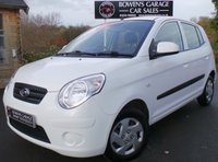 USED 2009 59 KIA PICANTO 1.0 1 5d 61 BHP 2 Owners - Low Miles - £30 Tax - 8 Services