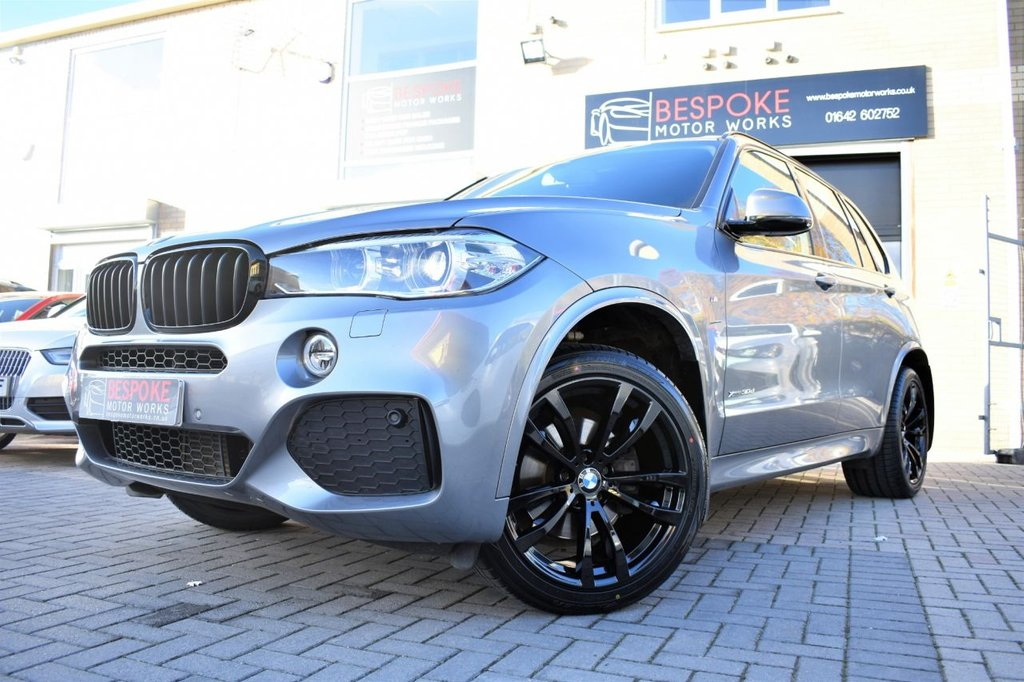 USED 2017 66 BMW X5 XDRIVE30D M SPORT AUTOMATIC