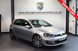 USED 2015 15 VOLKSWAGEN GOLF 2.0 GTI PERFORMANCE DSG 5DR AUTO 226 BHP 1 owner full vw service history * WAS £18,970 SAVE £1,000 * TUNGSTEN METALLIC SILVER WITH SPORT UPHOLSTERY + FULL VW SERVICE HISTORY + 1 OWNER FROM NEW + SATELLITE NAVIGATION + BLUETOOTH + SPORT SEATS + DAB RADIO + CRUISE CONTROL + RAIN SENSORS + HEATED MIRRORS + PARKING SENSORS + 19 INCH ALLOY WHEELS