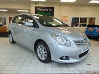 2012 TOYOTA VERSO 2.0 TD  TR D 4D  PANORAMIC ROOF £6995.00