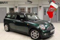 USED 2011 60 MINI CLUBMAN 1.6 COOPER D 5d 112 BHP £20 ROAD TAX + BLUETOOTH + CHILI PACK + DAB RADIO + AIR CONDITIONING + 16 INCH ALLOYS